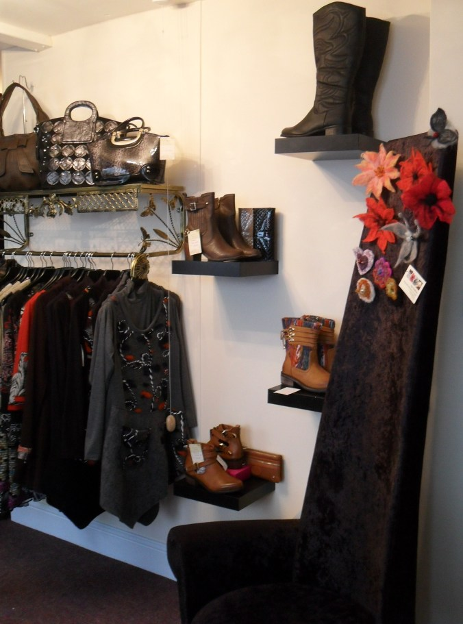 Fabulous Autumn/Winter clothes and accessories on sale in Graces Boutique.