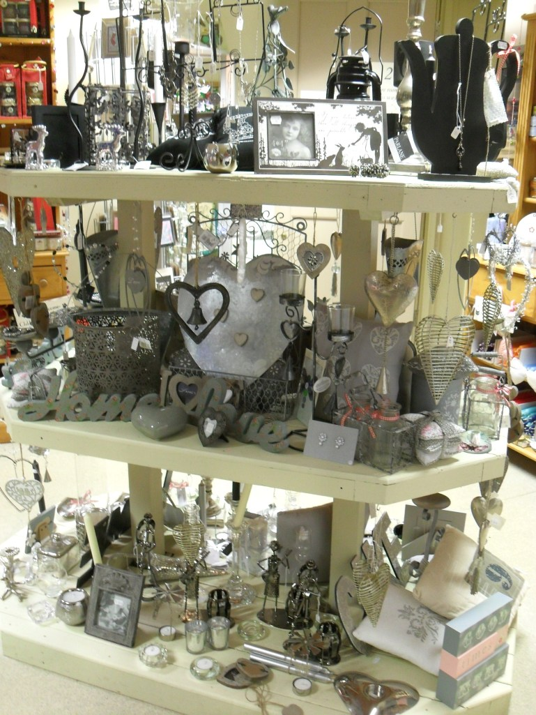 The shop is crammed with great gift ideas for Christmas!