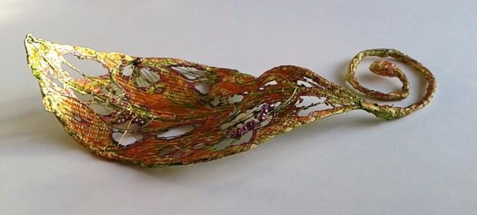 3D Tyvek Leaf