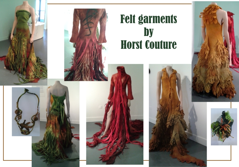 Felt Garments by Horst Couture