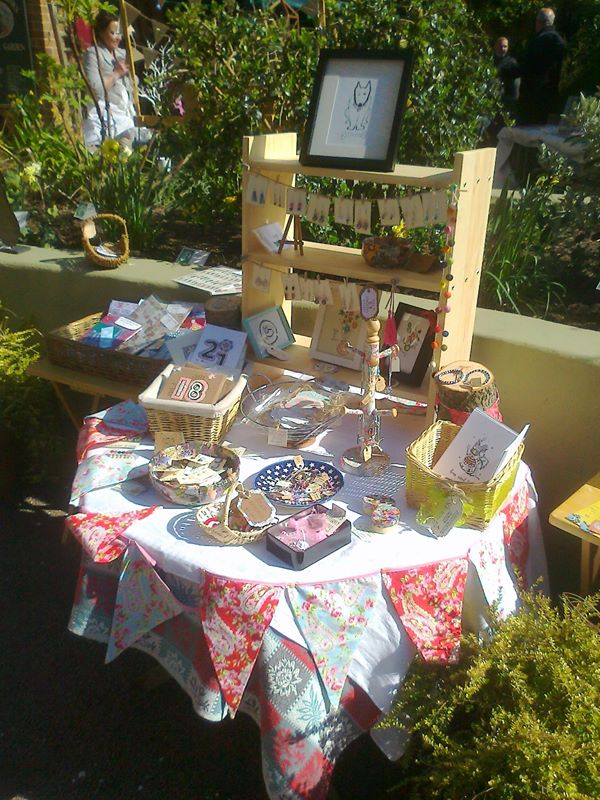 Handmade by Esme - one of the local crafters featured at the Joseph Banks Easter Craft Fair.