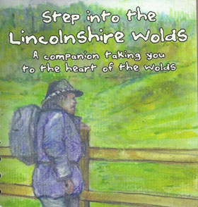 Peter Skipworth's beautifully illustrated book 'Step into the Lincolnshire Wolds'.