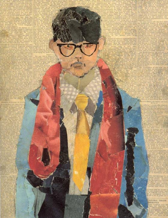 Hockney 1954 Self Portrait
