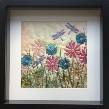 Box Frame Flower Meadow