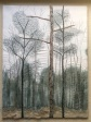 Three Tall Trees 30cm x 40cm