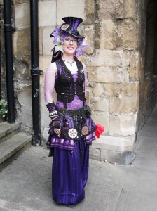 This lady had so much detail in her costume!