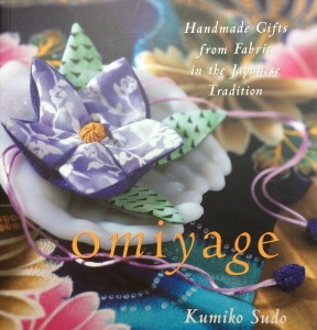 "Front cover of the book ""Omiyage"" by Kumike Sudo"