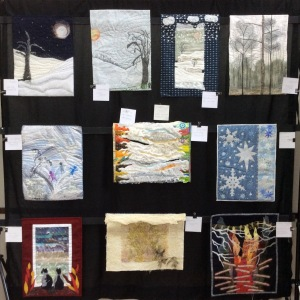 Challenge Quilts....what Winter means to me