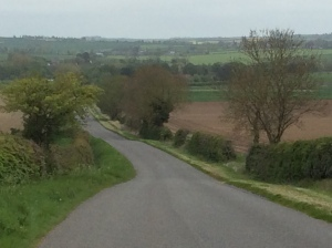 Photograph taken from the A158 on the edge of the Lincolnshire Wolds