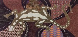 Gecko by Carole Parkinson