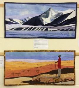 Blue Mountain & Horizon by Ann Kitching