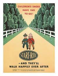 The old Start-Rite children's shoe advert