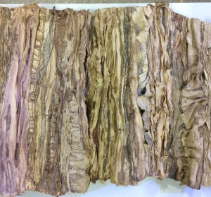 'Bark'.  A mixed media piece by a member of Jeudis.