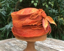 Merino and Silk Hat