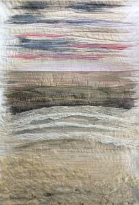 "Art Quilt with the theme ""Escape"""
